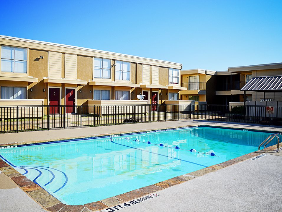 Sparkling Swimming Pool at Summer Glen Apartments in Dallas, Texas