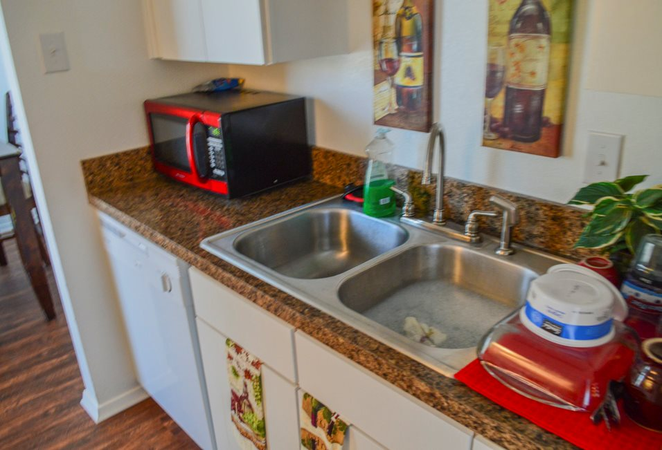 Fully Equipped Kitchen at Summer Glen Apartments in Dallas, Texas