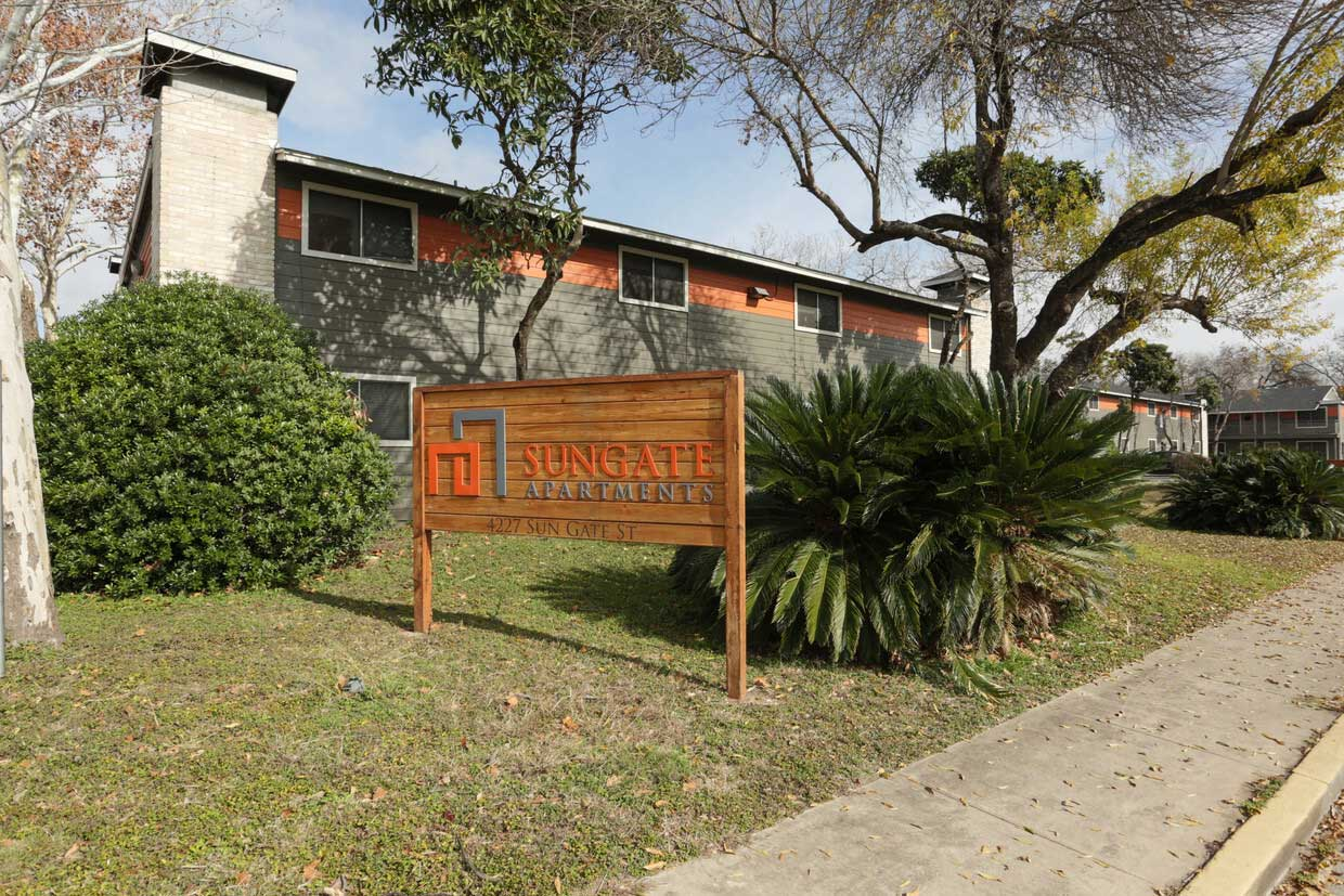 On-Site Management at Sungate Apartments in San Antonio, Texas