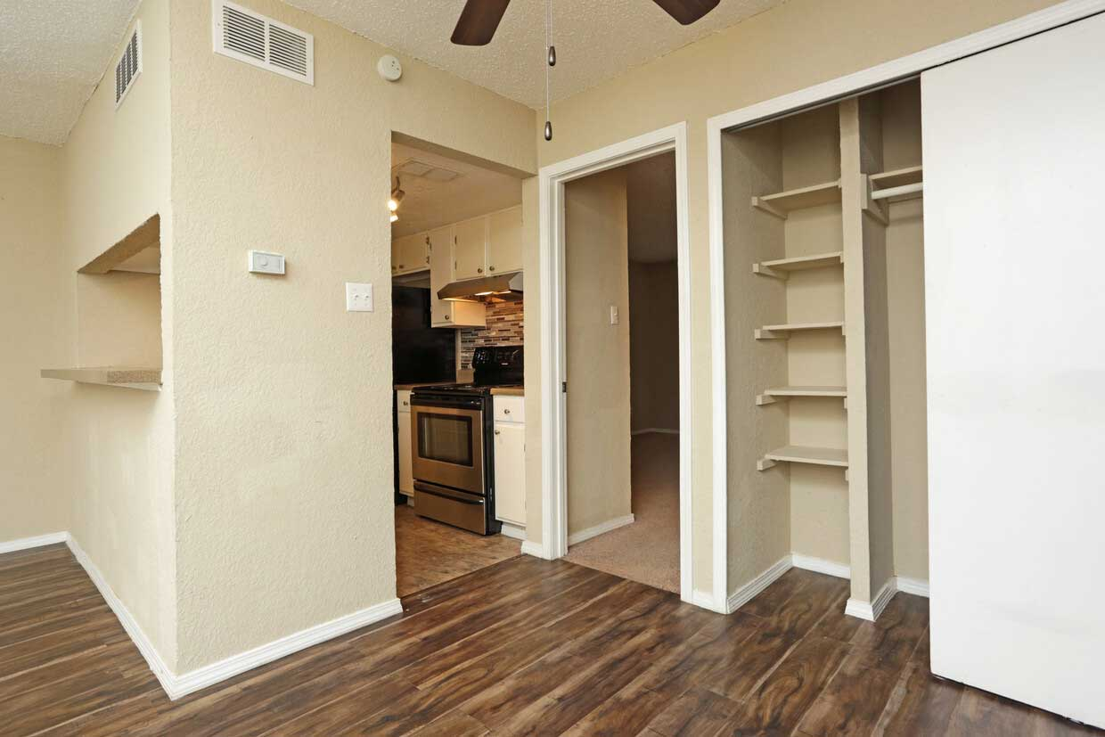 Ample Storage Space at Sungate Apartments in San Antonio, Texas