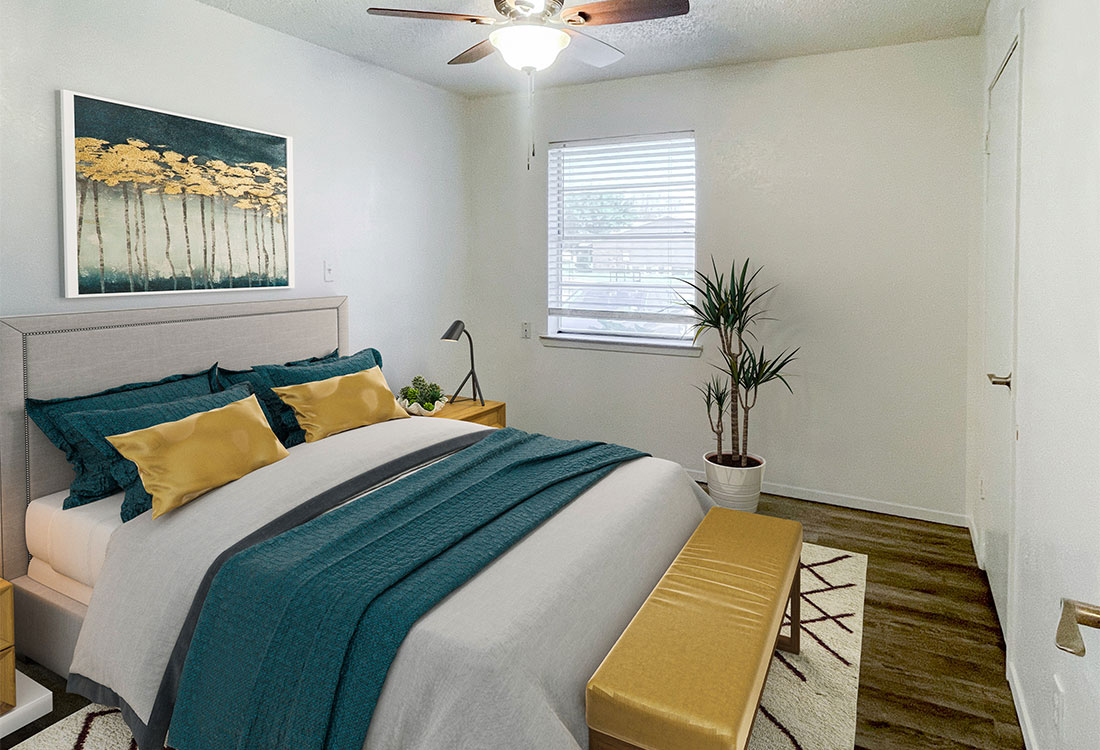 Spacious 1 & 2 Bedroom Floor Plans at Sunscape Apartments in Abilene, TX