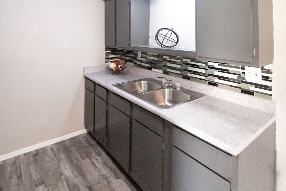 Newly Updated Kitchens at Sunscape Apartments in Abilene, Texas
