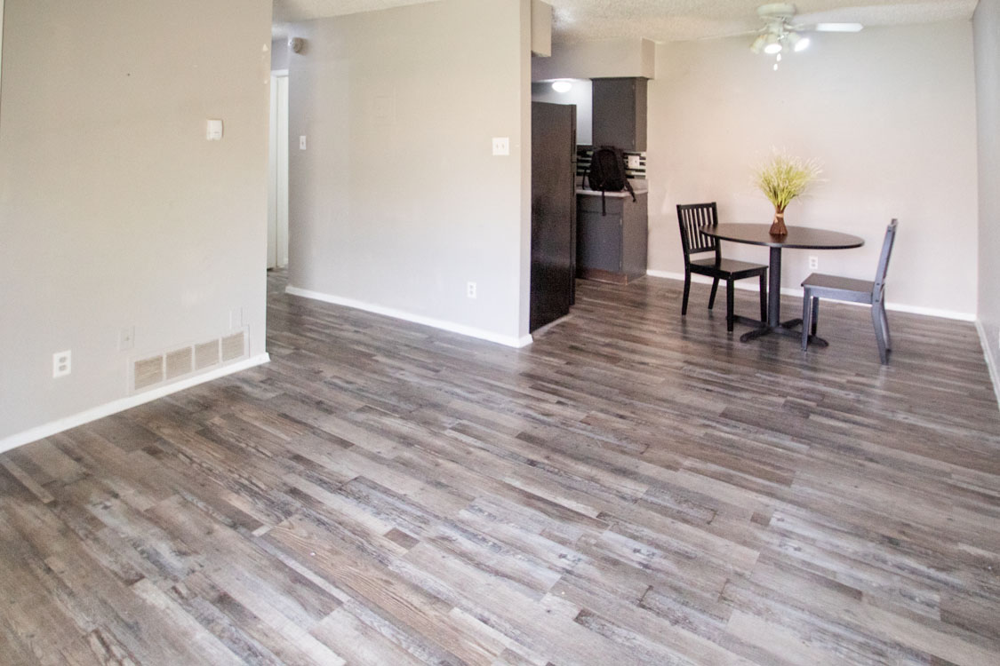 Spacious Living Rooms at Sunscape Apartments in Abilene, Texas