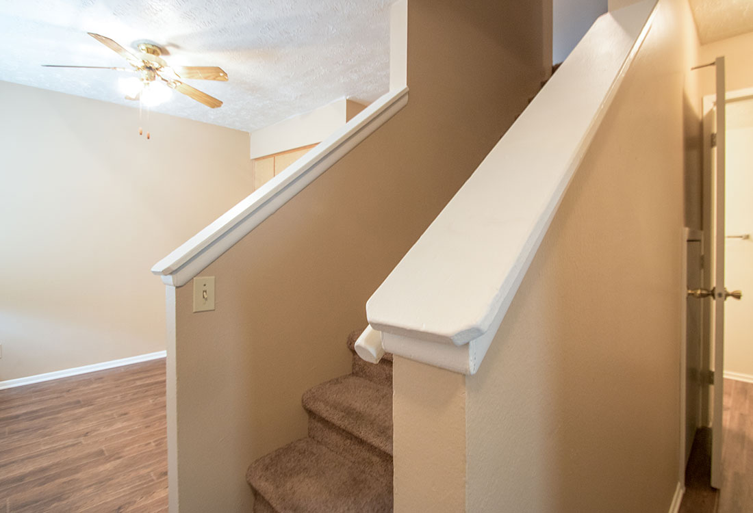 Stairs at Sunset Ridge Apartments in Omaha, NE