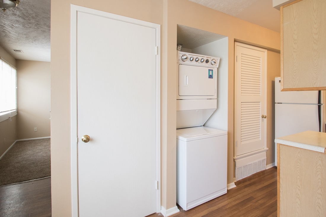 In-Home Laundry Appliances at Sunset Ridge Apartments in Omaha, NE