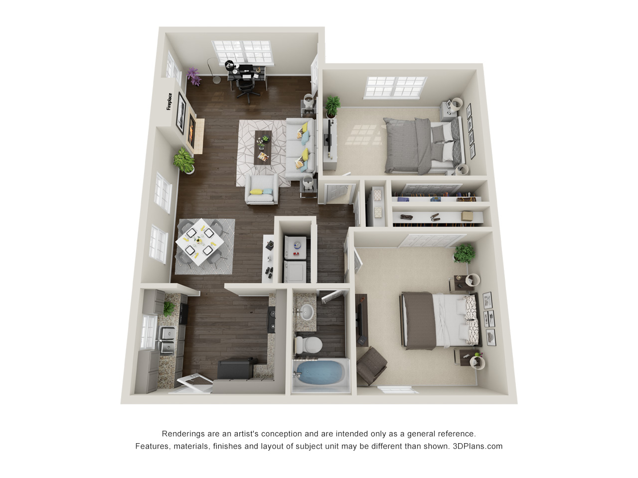 Floorplan - Willow Oak Villa image