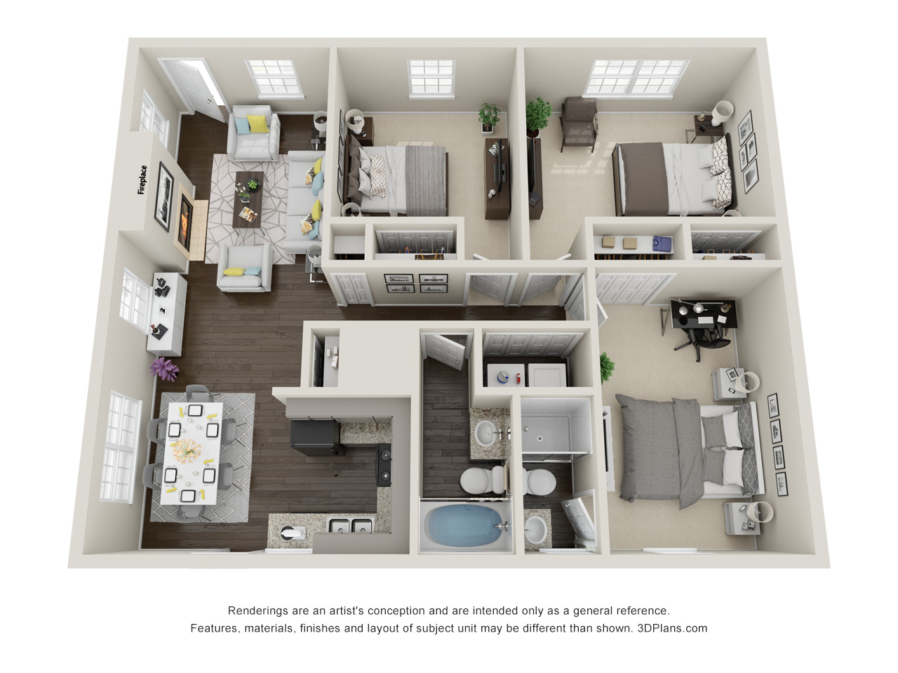 Floorplan - Blue Oak Villa image