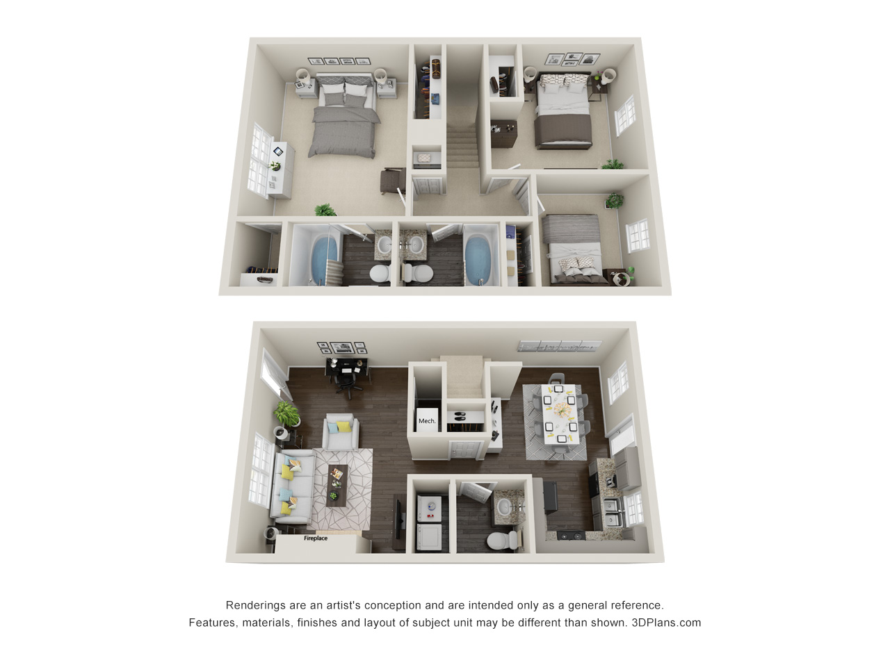 Floorplan - Southern Oak Villa image
