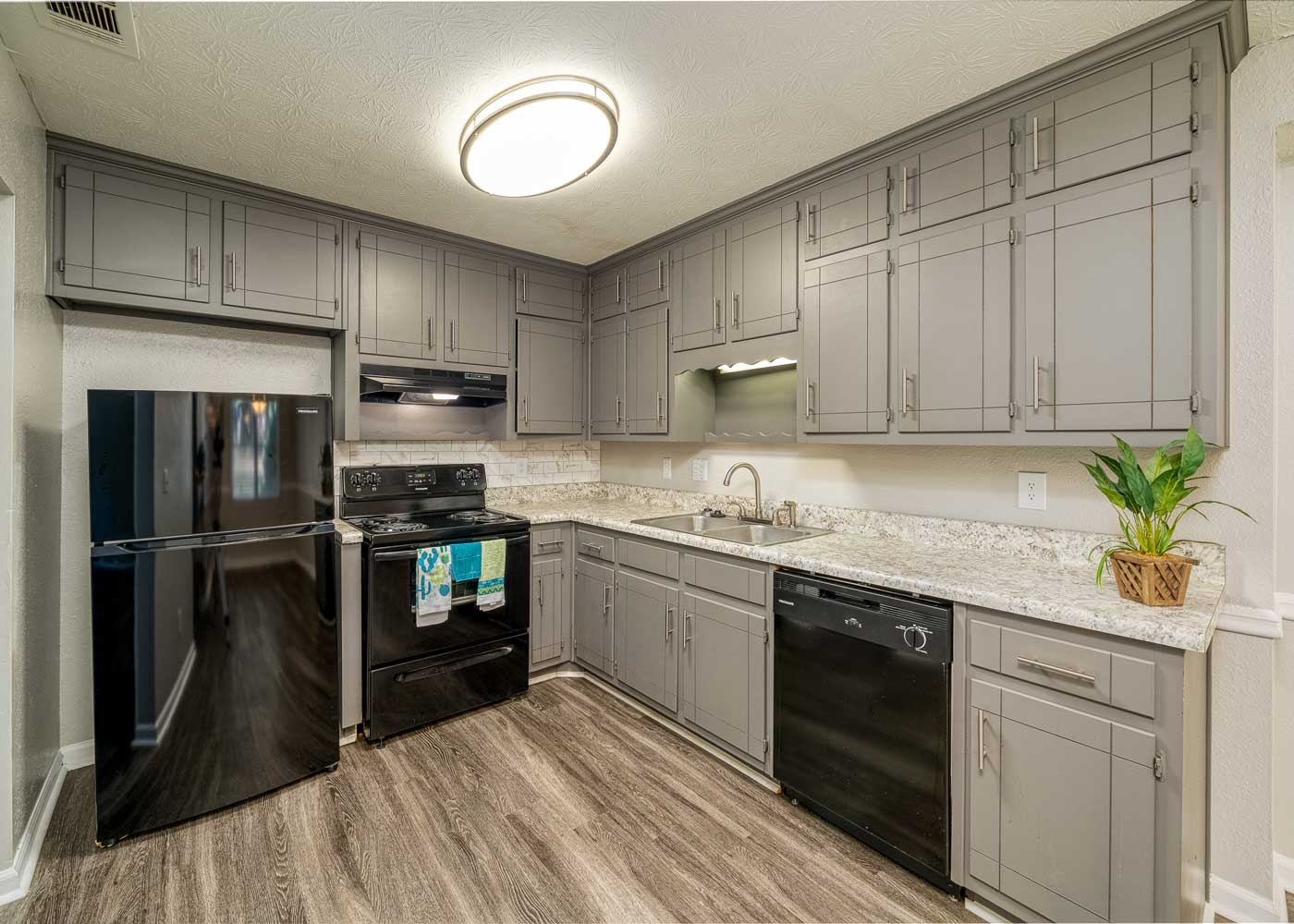 Stainless Steel Appliances at Tall Oaks Apartments and Villas in Conyers, GA