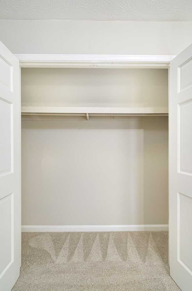 Walk-in Closet at Tall Oaks Apartments and Villas in Conyers, GA