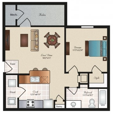 Oxford at Tech Ridge  - Floorplan - Bouldin
