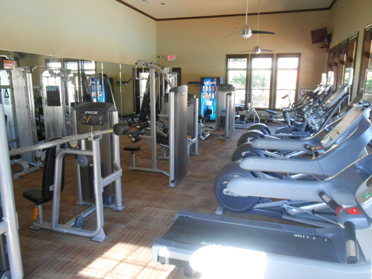 Fitness Center at The Oxford at Tech Ridge Apartments in Austin, TX