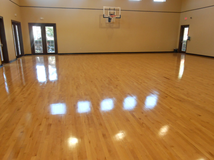 Basketball Court at The Oxford at Tech Ridge Apartments in Austin, TX