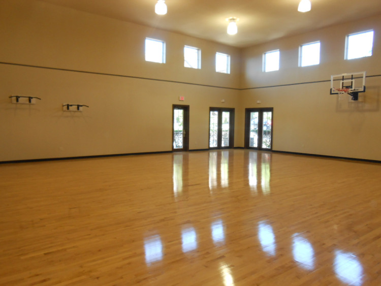 Multi-Purpose Gymnasium at The Oxford at Tech Ridge Apartments in Austin, TX