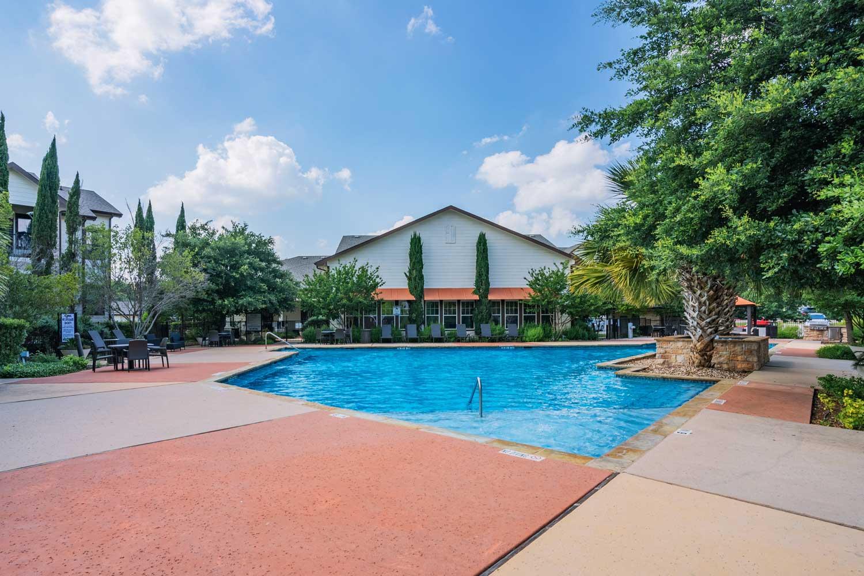 Pool View at Tech Ridge Apartments in Austin, TX
