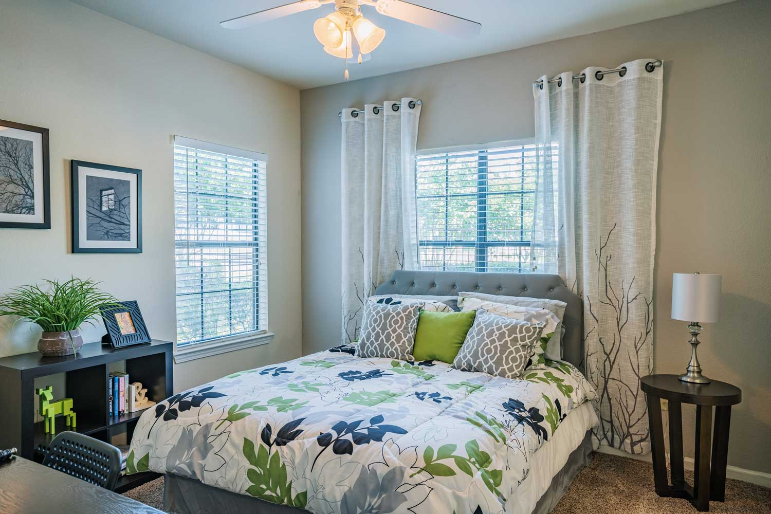 Interior of Bedroom at Tech Ridge Apartments in Austin, TX