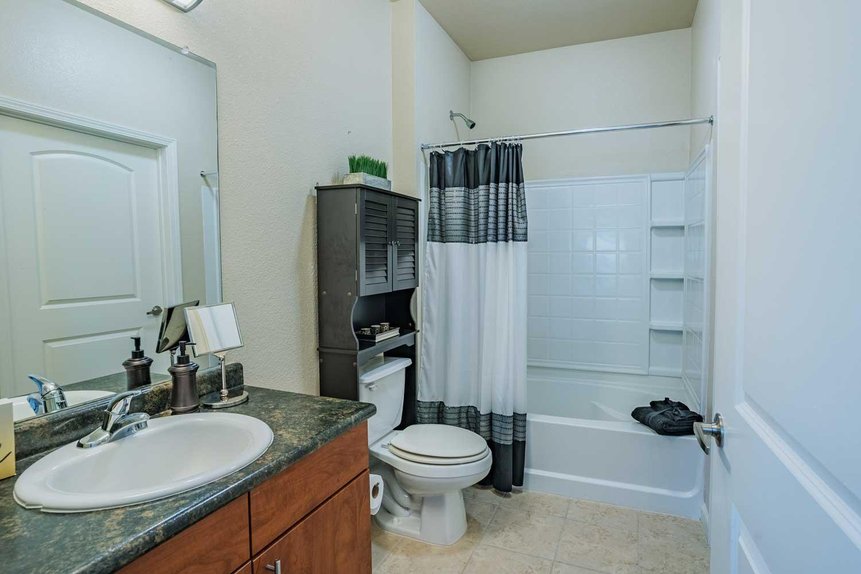 Modern Bathroom at Tech Ridge Apartments in Austin, TX