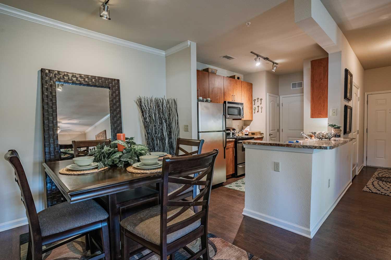 Spacious Kitchens at Oxford at Tech Ridge Apartments in Austin, TX