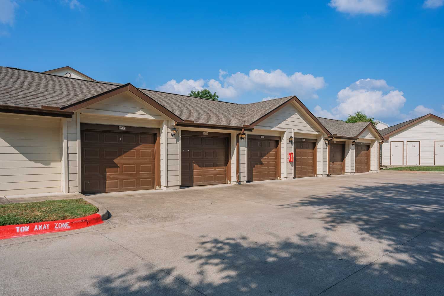 Attached and Detached Garages at Tech Ridge Apartments in Austin, TX