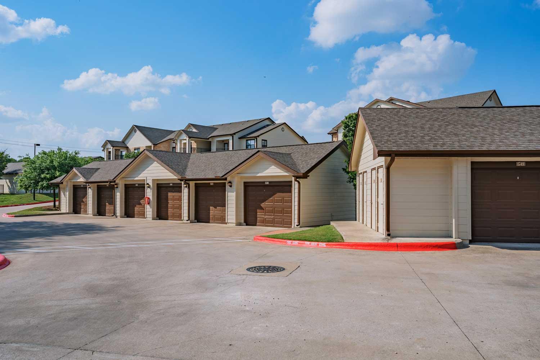 Convenient Garage at Tech Ridge Apartments in Austin, TX