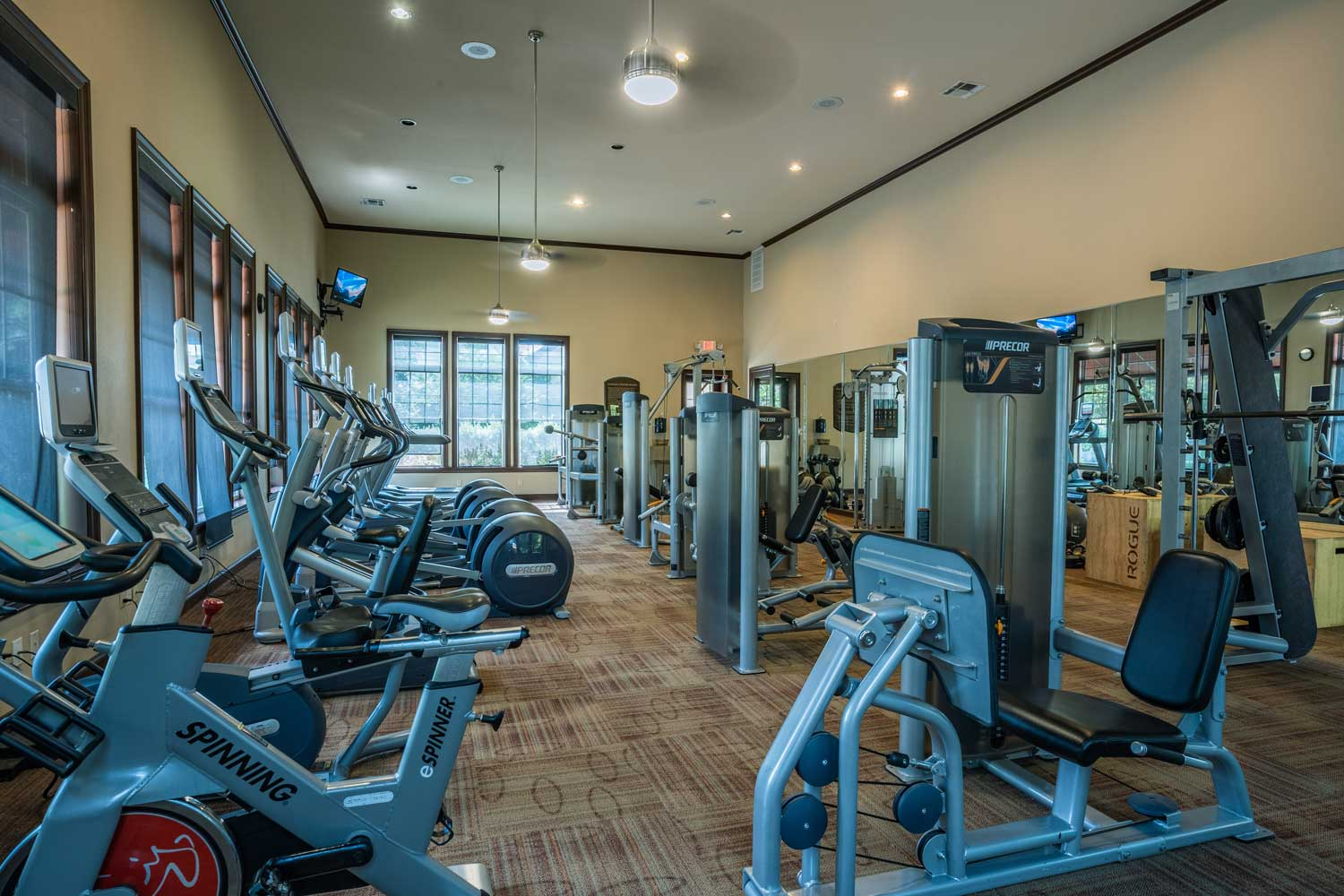 State-Of-The-Art Fitness Center at Tech Ridge Apartments in Austin, TX