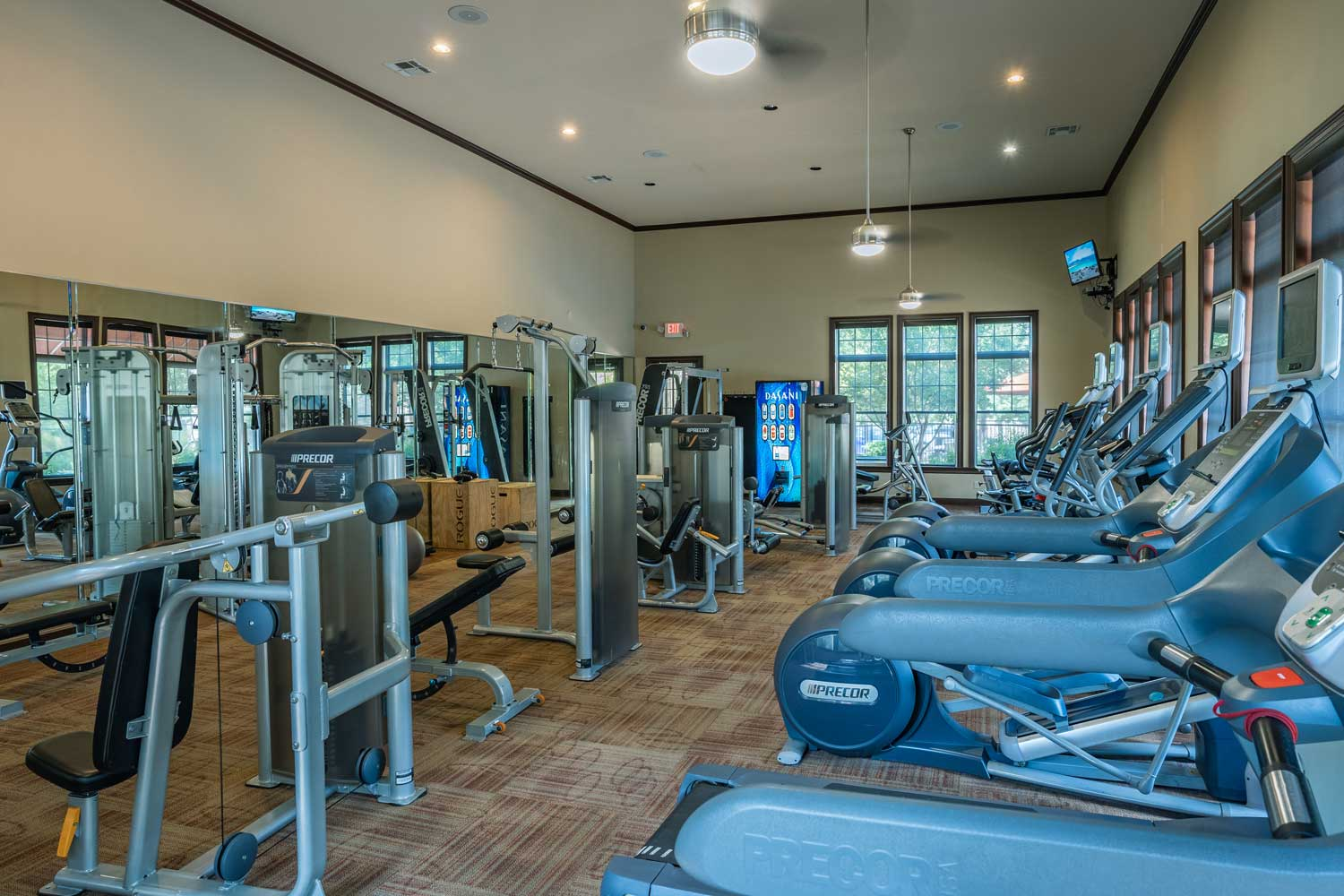 Fitness Center at Tech Ridge Apartments in Austin, TX