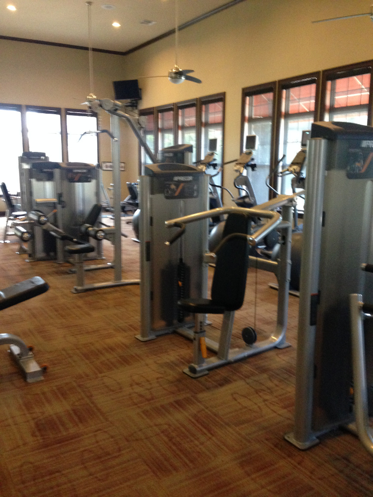 Updated Fitness Gear at The Oxford at Tech Ridge Apartments in Austin, TX