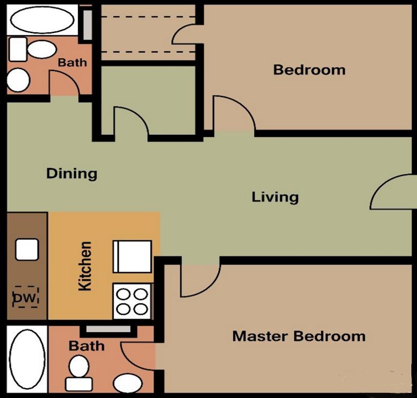 Texas Angleton Ranch - Floorplan - B2