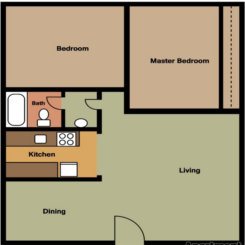 Texas Angleton Ranch - Floorplan - B1