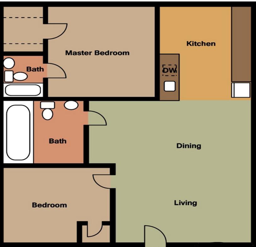 Floorplan - B3 image