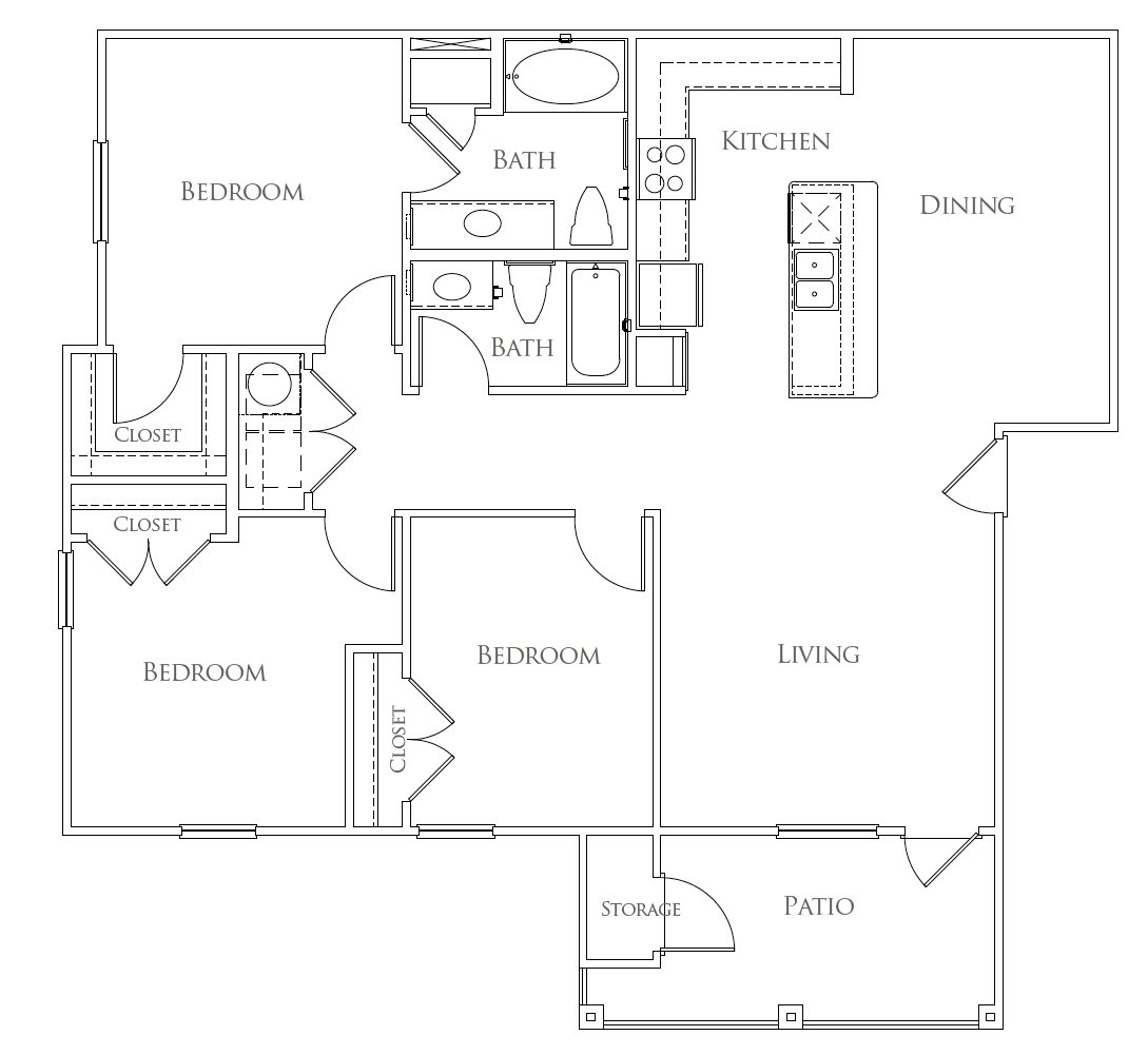 Floorplan - The Colorado image