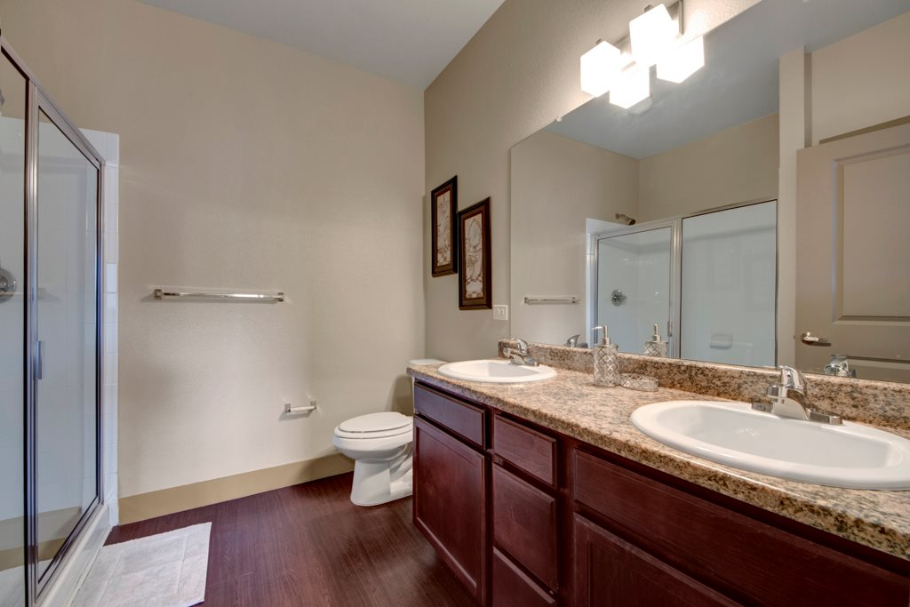 Double Vanity at The Azure Apartment Homes in Midland, Texas