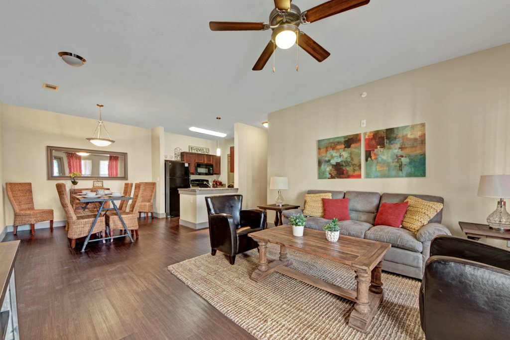 Ceiling Fans at The Azure Apartment Homes in Midland, Texas