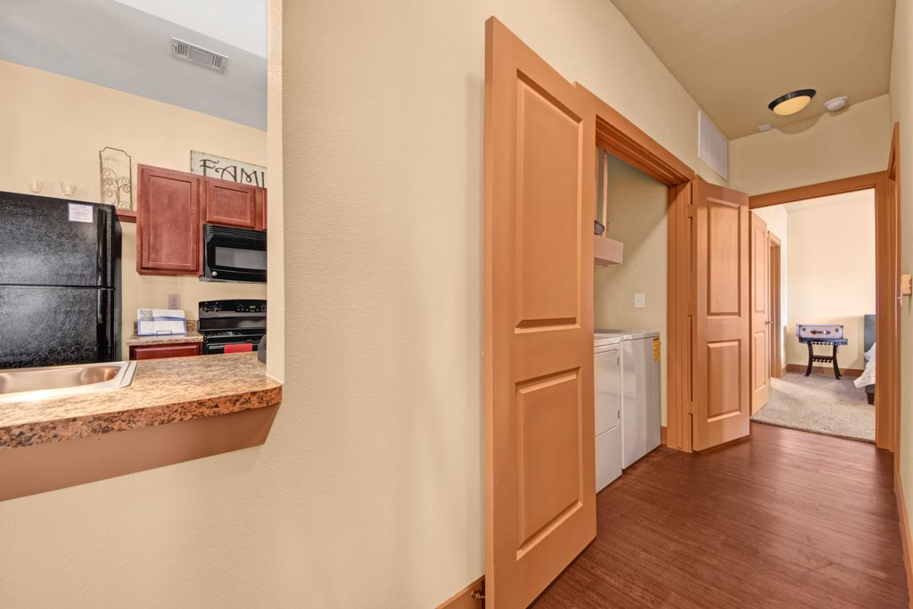 Washer and Dryer at The Azure Apartment Homes in Midland, Texas