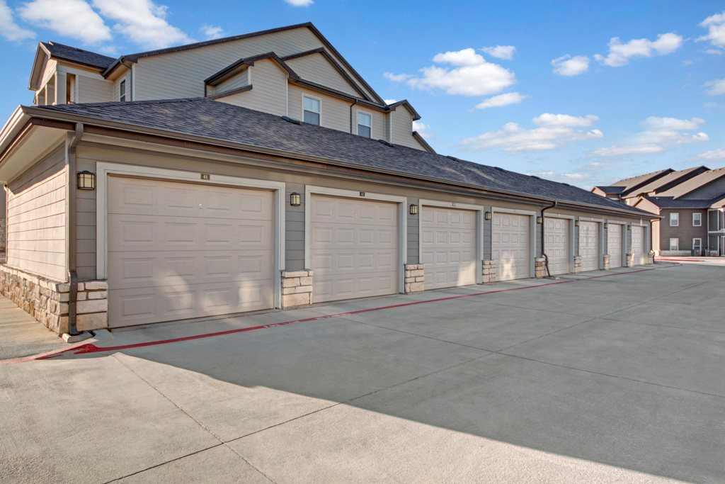 Garages Available at The Azure Apartment Homes in Midland, Texas