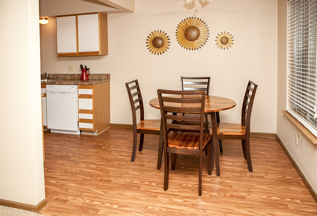 Open Floor Plans at The Bluffs Apartments in Council Bluffs, IA