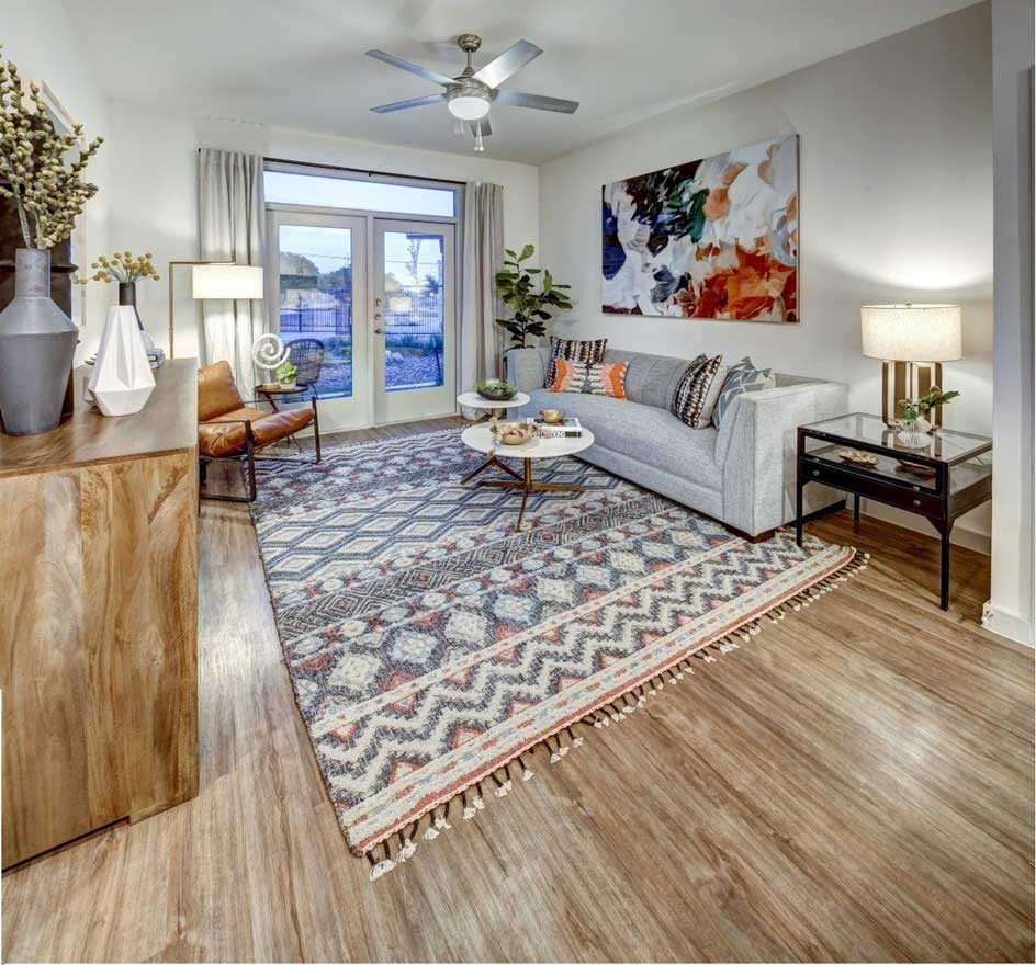 Open Floor Plans at The Conley Apartments in Leander, TX