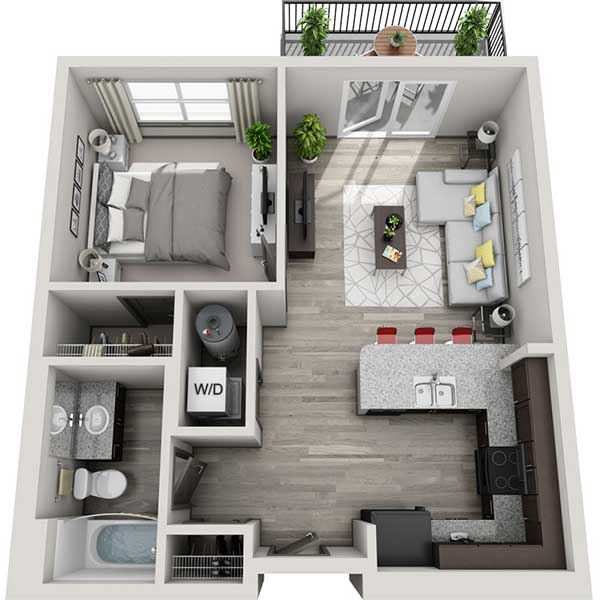 Floorplan - 1.1B image