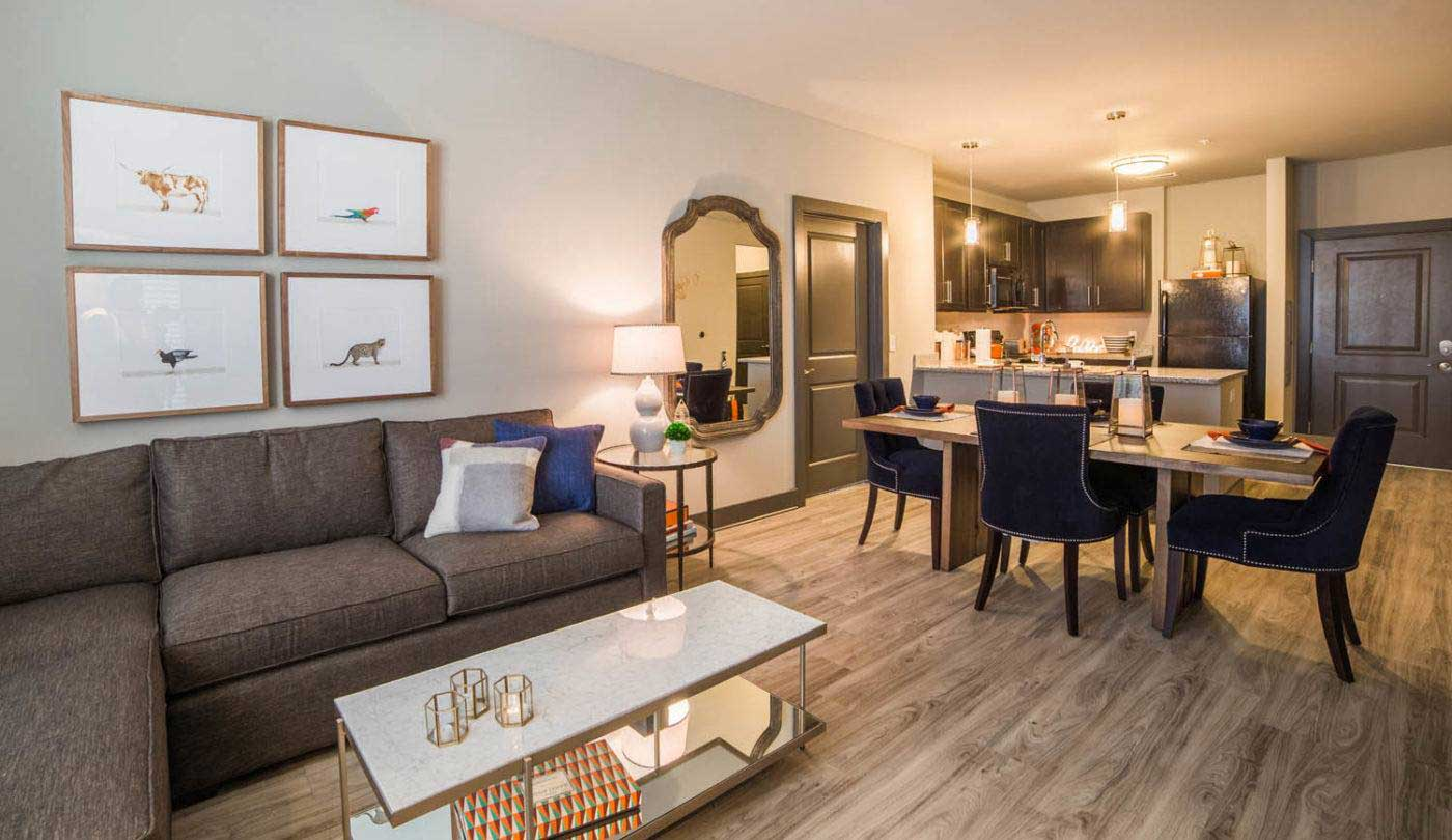 Modern Floor Plans at The Flats Apartments in Miamisburg, OH
