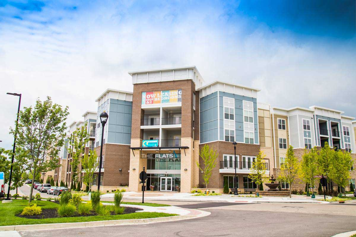 Live/Work/Play Apartments for Rent at The Flats Apartments in Miamisburg, OH