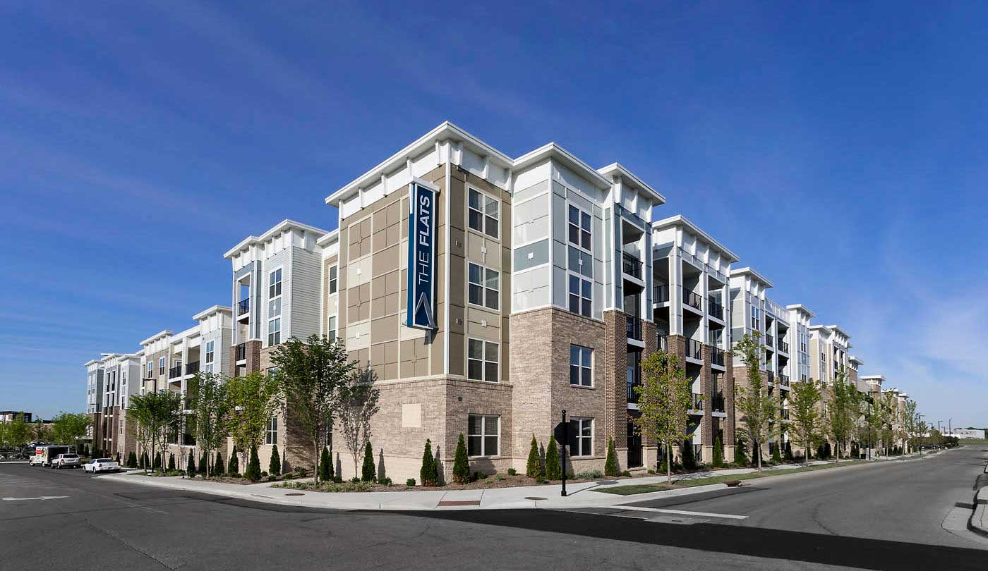 Centrally Located Apartments at The Flats Apartments in Miamisburg, OH
