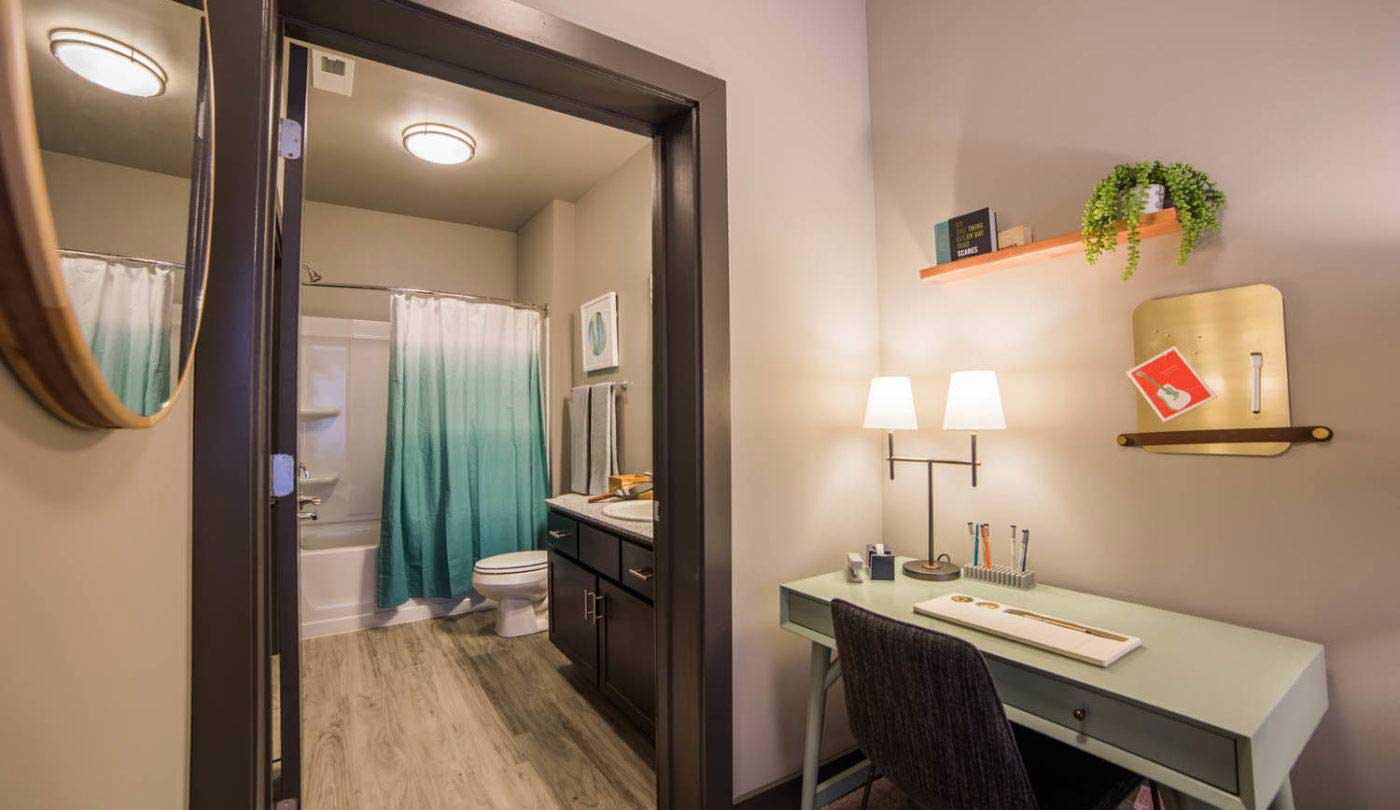 Upgraded Bathrooms at The Flats Apartments in Miamisburg, OH