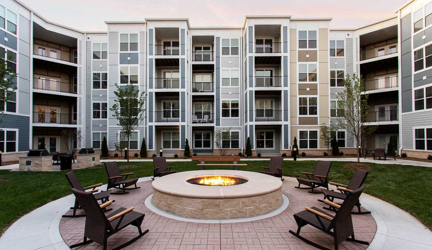 Courtyards at The Flats Apartments in Miamisburg, OH