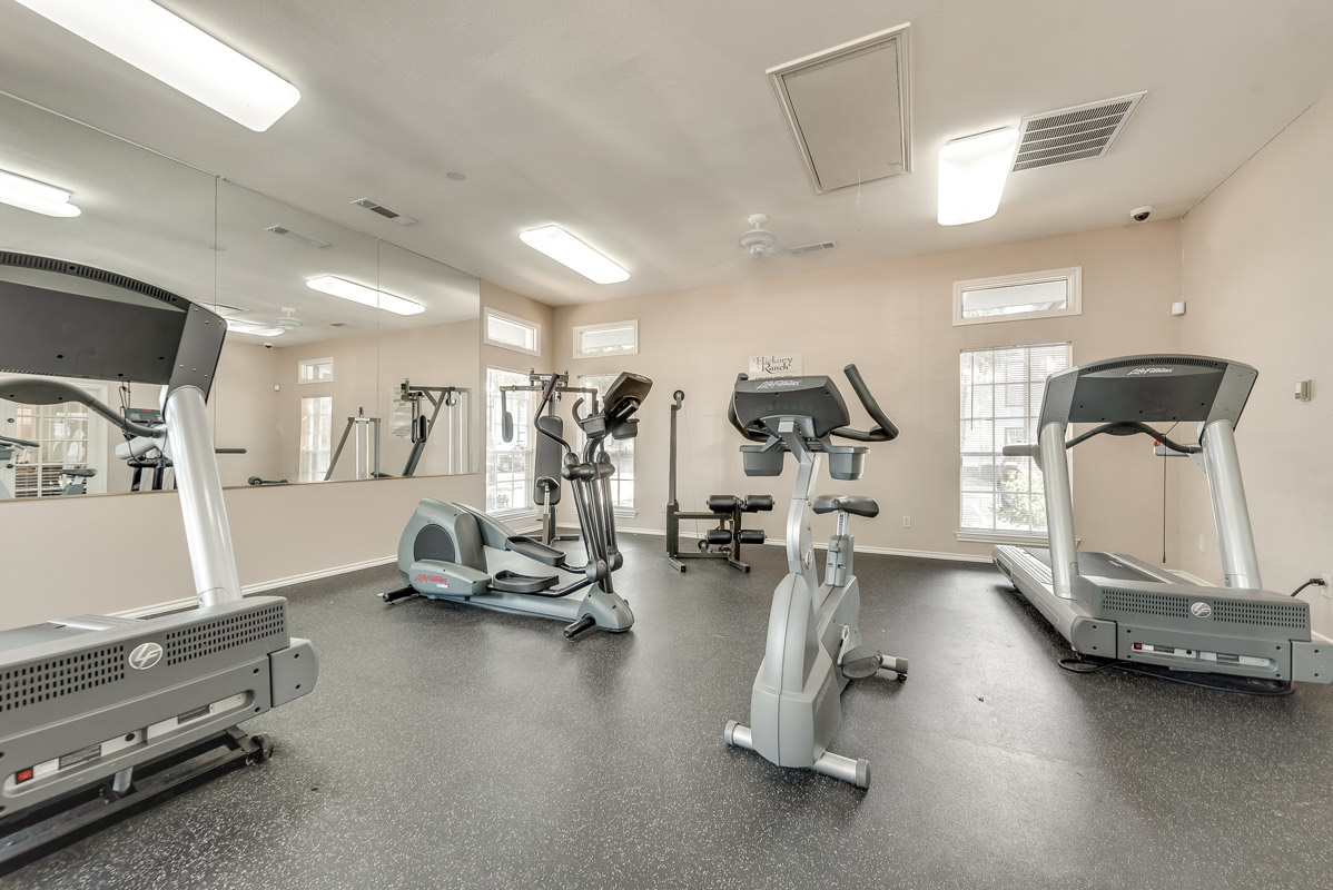 On Demand Fitness Center at The Harrison Apartments in Dallas, TX