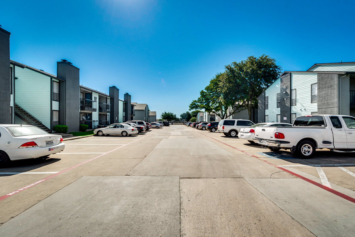 Seamless Parking at The Harrison Apartments in Dallas, TX