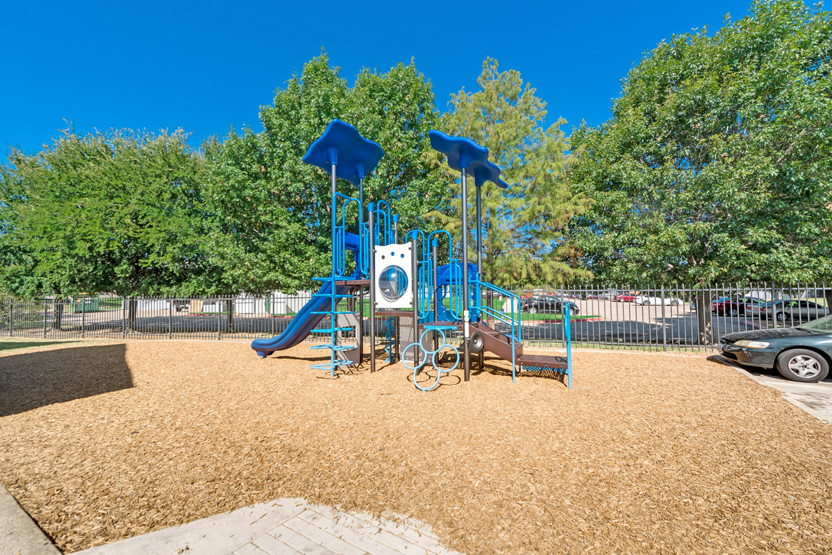 Playground at The Harrison Apartments in Dallas, TX