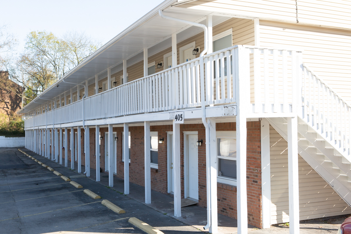 Property View at The Highland Apartments in Clarksville, TN