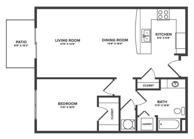 Floorplan - Devereux image