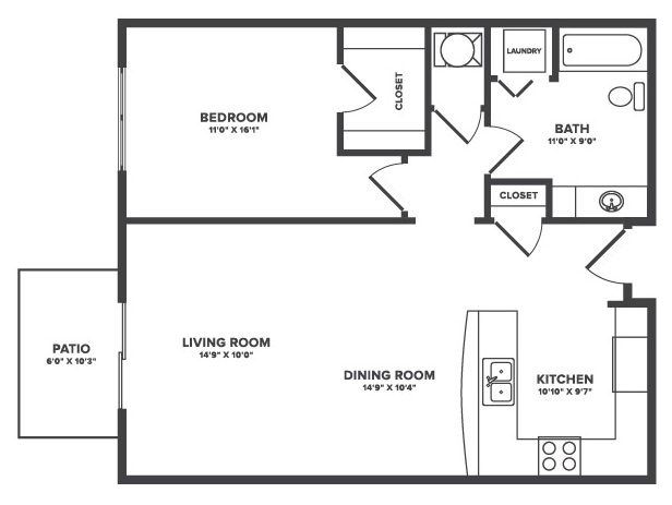 The Oaks at Lakeview - Floorplan - Diona