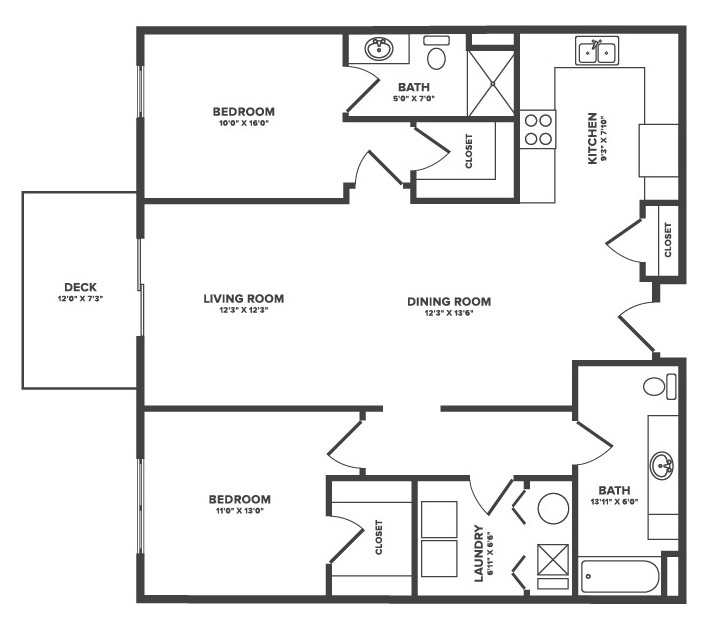 The Oaks at Lakeview - Floorplan - Tahoe